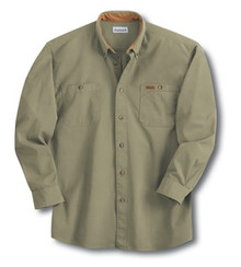 Carhartt Canvas Long-Sleeve Work Shirt