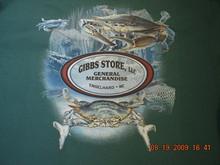 Gibbs Store Green Crab Long-Sleeve T-Shirt