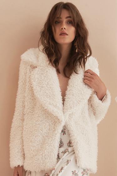 Perla Coat, Creme