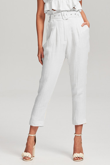 Aster Pant, White