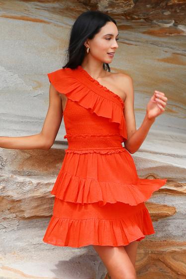 Bisou One Shoulder Dress