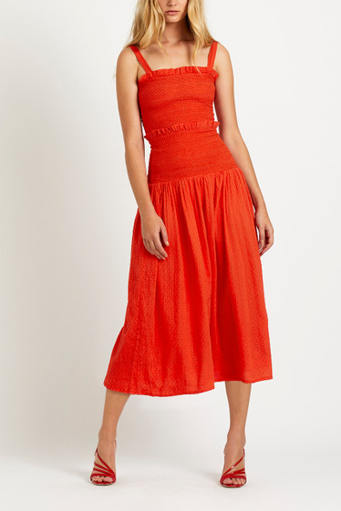 Bisou Midi Dress
