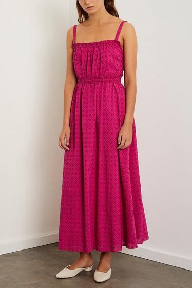 Barba Midi Dress, Viola