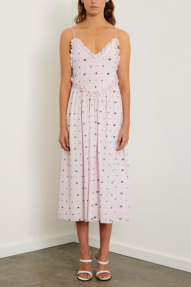 Alara Midi Dress, French Lilac