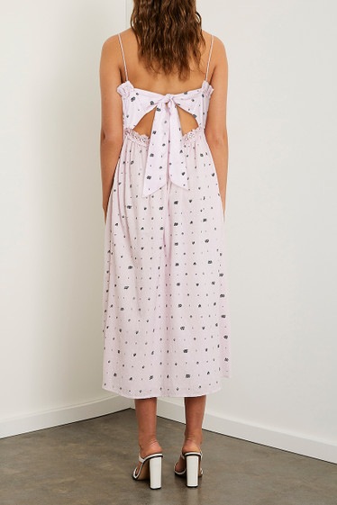 Alara Midi Dress, French Lilac