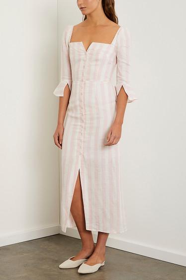 Marley Midi Dress, Musk Stripe