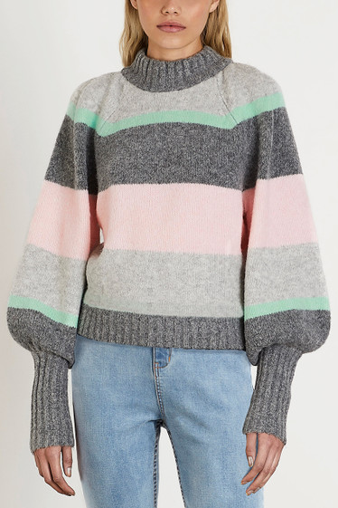 Bray Knit, Multi Stripe