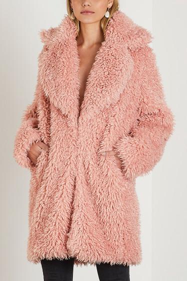 Zoey Coat, Rosé