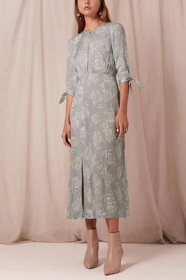 Maya Midi Dress, Seafoam
