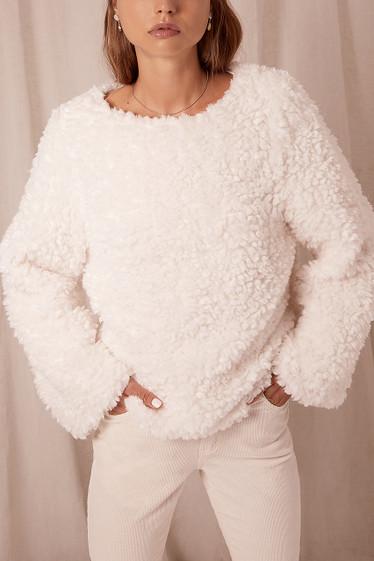 Harper Sweater, Natural