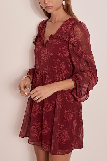 Sahara Mini Dress, Pinot