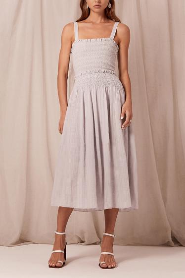 Elyse Midi Dress, Coconut