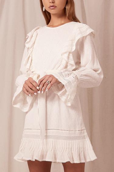 Alexandria Dress, Ivory