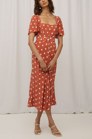Dani Dress, Sienna Polka