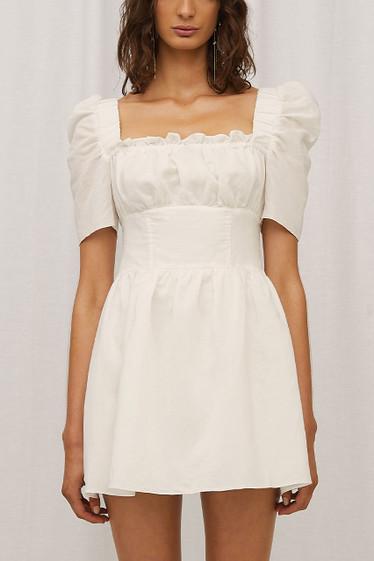 Kady Dress, Blanc