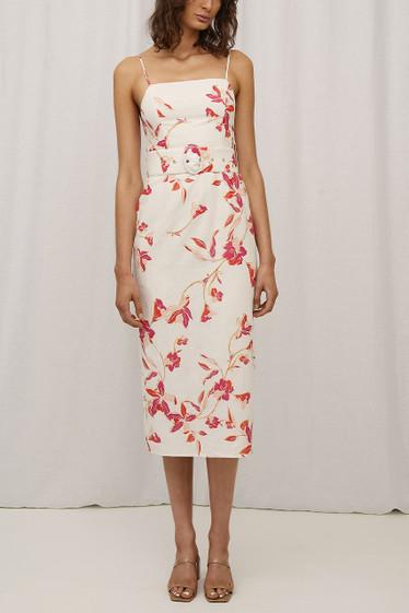 Amalia Dress, Palawan Floral