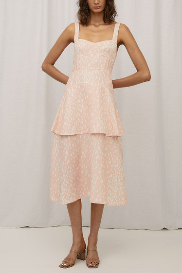 Belle Dress, Blush Spot