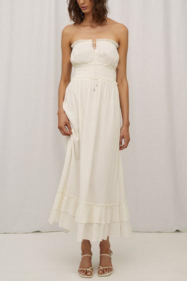 Andi Dress, Blanc