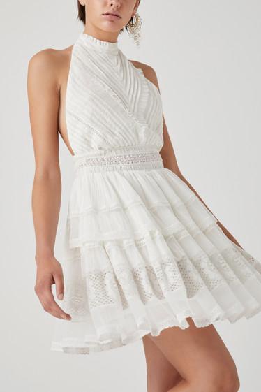 Justify Dress, Blanc