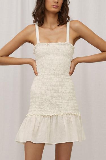 Samba Dress, Blanc