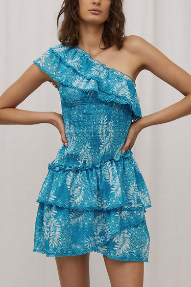 Fallon Dress, Bora Blue