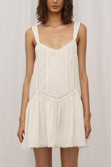 Raquel Dress, Blanc