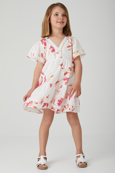 Capri Dress, Palawan Floral, Mini
