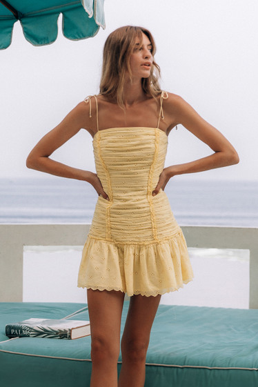 Ariella Dress, Buttercup