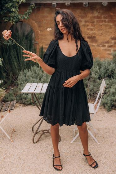 Crystal Dress, Noir