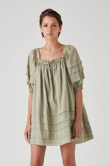 Talita Dress, Pistachio