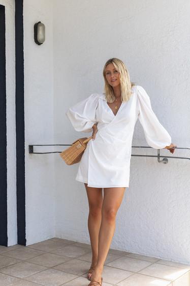 Ciper Dress, Ivory