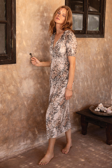 Anzio Dress, Plume
