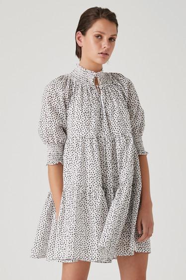 Fierra Dress, Noir Speck