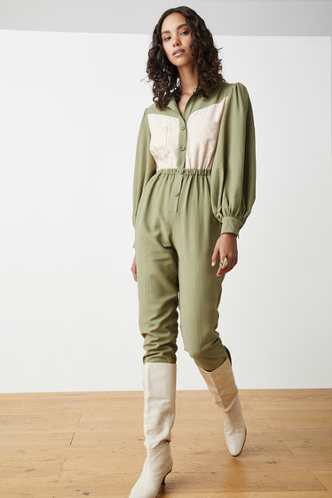 Payton Boiler Suit, Moss