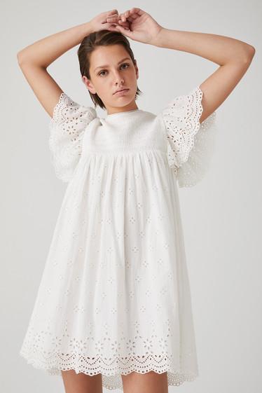 Nancy Dress, Ivory