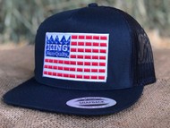 KING Navy Flag Cap