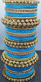 Blue Bangle Set: Buy Now