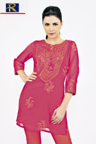 Full Embroidery Work   Available in Blue  or Red   Buy now