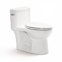 Select One Piece Toilet in White 06MUY-MY2150