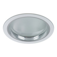 Active Home Centre 2 Light Recess Light in Satin Nickel
