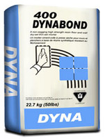 Dynabond 400 Floor & Wall Thinset Mortar in Grey 11-THINSET400G