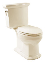 Corona Piamonte Two Piece Elongated Toilet in Bone 06COR-PIAMOBON