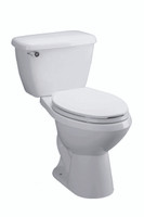 Corona Aquajet Two Piece Toilet in White