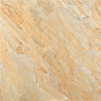 "Quartzita Ouro 22.5""x 22.5"" Porcelain Floor Tile"