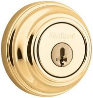 Polish Brass Single Cylinder Deadbolt 04KW-99800-087
