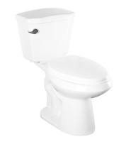 Weston Two Piece Toilet in White 06SO-WES--SA2178