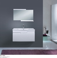 "35-3/4"" Bathroom Cabinet in White 08SU-SLT-T805"