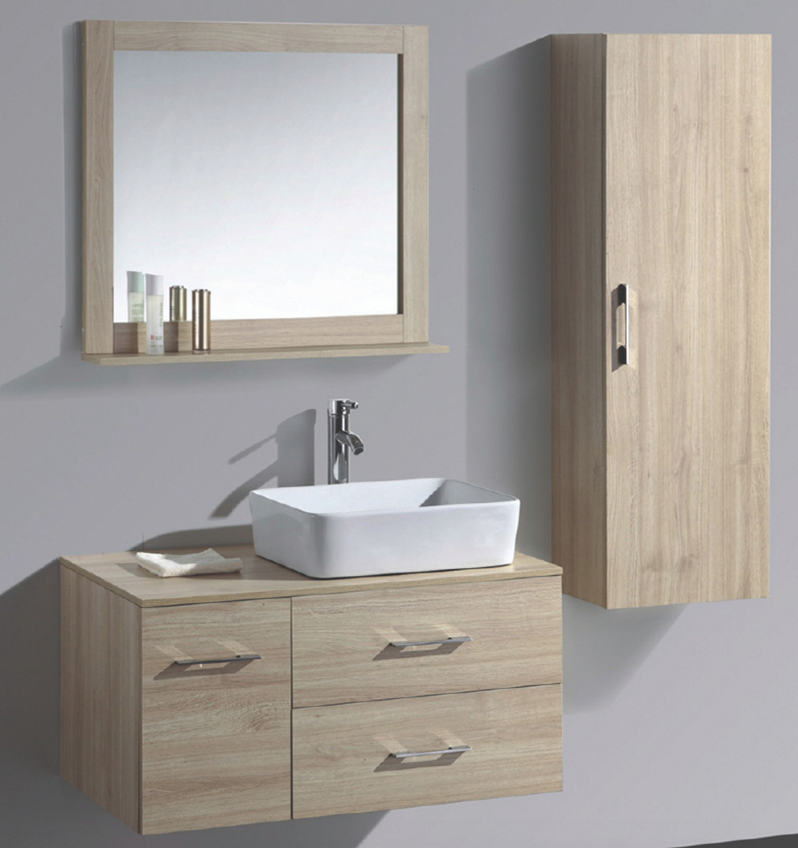 Super 35 1 4 Wall Mount Bathroom Vanity Cabinet With Mirror And Side Cabinet 08Su Slt T603 1 Download Free Architecture Designs Viewormadebymaigaardcom