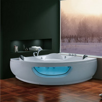 Corner Massage Whirlpool Bathtub 07KO-K1065