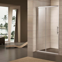 "Active Home Centre 59"" Sliding Shower Door in Tempered Glass (07KO-K923-5)"